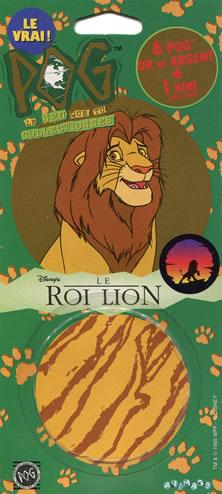 Pochette de Pogs Le Roi Lion