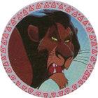 Pog n°5 - Scar - Le Roi Lion - Panini