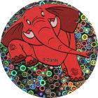 Pog n°20 - L'éléphant - Le Roi Lion - World Pog Federation (WPF)