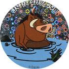 Pog n°21 - Pumbaa dans la boue - Le Roi Lion - World Pog Federation (WPF)