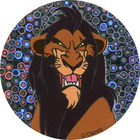 Pog n°26 - Oncle Scar, l'ennemi - Le Roi Lion - World Pog Federation (WPF)