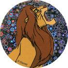 Pog n°30 - Simba rugit - Le Roi Lion - World Pog Federation (WPF)