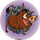 Pog n°41 - Pumbaa - Le Roi Lion - World Pog Federation (WPF)