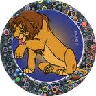 Pog n°45 - Simba se lèche - Le Roi Lion - World Pog Federation (WPF)