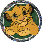 Pog n°46 - Simba jeune 2 - Le Roi Lion - World Pog Federation (WPF)