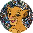 Pog n°49 - Simba jeune 3 - Le Roi Lion - World Pog Federation (WPF)
