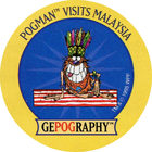 Pog n°11 - Malaysia - GEPOGRAPHY - World Pog Federation (WPF)