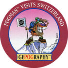 Pog n°14 - Switzerland - GEPOGRAPHY - World Pog Federation (WPF)