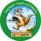 Pog n°16 - Australia - GEPOGRAPHY - World Pog Federation (WPF)