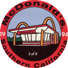 Pog n°3 - McDonald's - Southern California - Divers