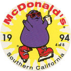 Pog n°4 - McDonald's - Southern California - Divers