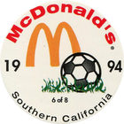 Pog n°6 - McDonald's - Southern California - Divers