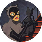Pog n°6 - Catwoman et son chat - Batman - World Pog Federation (WPF)