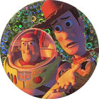 Pog n°3 - Woody a peur - Toy Story - McDonald's - World Pog Federation (WPF)