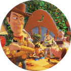 Pog n°45 - Woody abandonné - Toy Story - McDonald's - World Pog Federation (WPF)