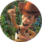 Pog n°19 - Woody raconte - Toy Story - McDonald's - World Pog Federation (WPF)