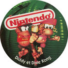 Pog n°7 - Diddy et Dixie Kong - Choco Pops & Donkey Kong - Divers