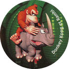 Pog n°13 - Donkey Kong et Rambi - Choco Pops & Donkey Kong - Divers