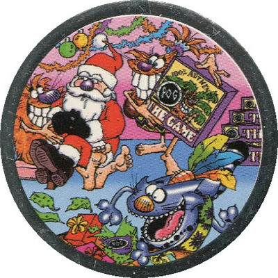 Pog n° - 100% Noël - World Pog Federation (WPF)