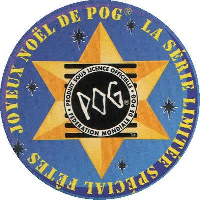 Pog n° - 100% Noël - World Pog Federation (WPF)