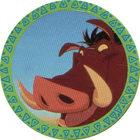 Pog n°7 - Pumba - Le Roi Lion - Panini