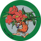 Pog n°8 - POG en Fleur - McDonald's - World Pog Federation (WPF)