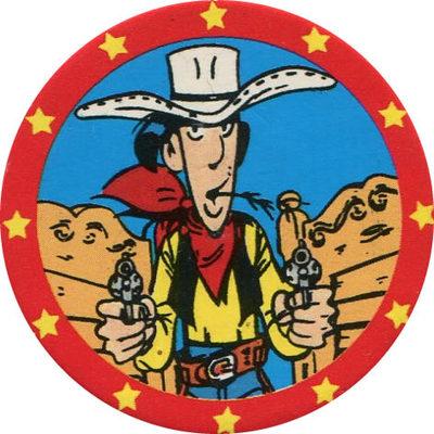 Pog n° - Lucky Luke - Petit Brun Extra - World Pog Federation (WPF)