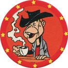 Pog n°17 - Billy the Kid - Lucky Luke - Petit Brun Extra - World Pog Federation (WPF)