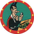 Pog n°18 - Finger - Lucky Luke - Petit Brun Extra - World Pog Federation (WPF)
