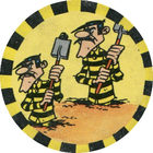Pog n°7 - Les Dalton 1 - Lucky Luke - Petit Brun Extra - World Pog Federation (WPF)