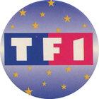 Pog n°1 - Logo TF1 - TF1 - World Pog Federation (WPF)