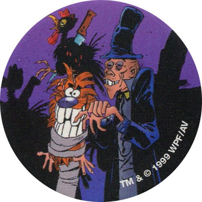 Pog n° - Horror Show - World Pog Federation (WPF)
