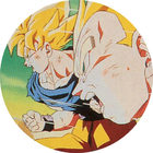 Pog n°4 - Sangoku & Vegeta - Dragon Ball Z - Caps - Panini
