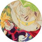 Pog n°6 - Sangohan & Broly - Dragon Ball Z - Caps - Panini