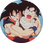 Pog n°8 - Sangoku & Sangohan - Dragon Ball Z - Caps - Panini