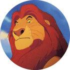Pog n°2 - Le Roi Lion - Caps - Panini