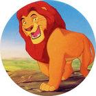 Pog n°6 - Le Roi Lion - Caps - Panini