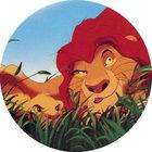 Pog n°7 - Le Roi Lion - Caps - Panini