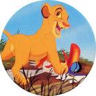 Pog n°9 - Le Roi Lion - Caps - Panini