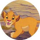 Pog n°11 - Le Roi Lion - Caps - Panini