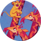 Pog n°13 - Le Roi Lion - Caps - Panini