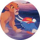 Pog n°16 - Le Roi Lion - Caps - Panini