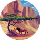 Pog n°18 - Le Roi Lion - Caps - Panini