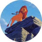 Pog n°21 - Le Roi Lion - Caps - Panini