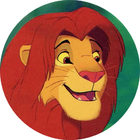 Pog n°30 - Le Roi Lion - Caps - Panini