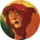 Pog n°31 - Le Roi Lion - Caps - Panini