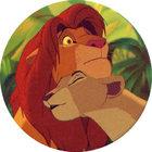 Pog n°33 - Le Roi Lion - Caps - Panini