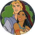 Pog n°9 - John et Pocahontas 1 - Pocahontas - World Pog Federation (WPF)