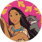 Pog n°10 - Pocahontas et son ami - Pocahontas - World Pog Federation (WPF)
