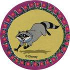 Pog n°18 - Meiko le raton laveur - Pocahontas - World Pog Federation (WPF)